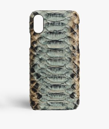 iPhone Xs Max Leather Case Cobra Multicolor