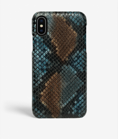 iPhone X/Xs Python Multicolor Sunset Blue