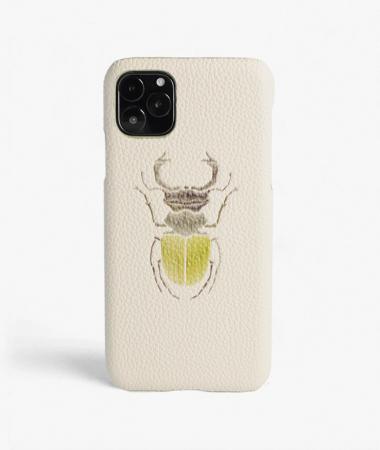 iPhone 11 Pro Max Beetle Calf Mastice