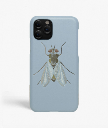 iPhone 11 Pro Max Leather Case Fly Baby Blue