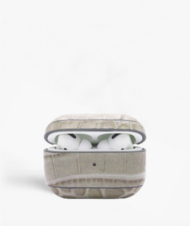 AirPod Pro Case Crocodile Mastice