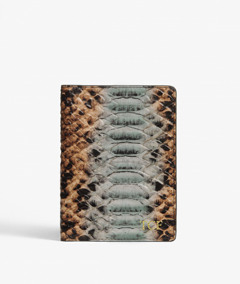 Passport Cover Python/Cobra Multicolor